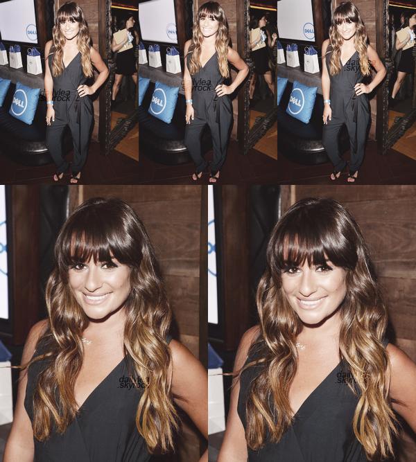 PUBLIC APPEARANCE//01 juillet 2013 Lea s'est rendue au concert de Beyonce, qui s'est déroulé au Hyde Lounge et était organisé par DELL.