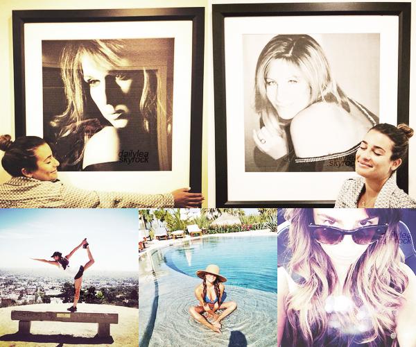PERSONAL PICTURES// Twitter & Instagram Découvrez quelques photos personnelles deLea..