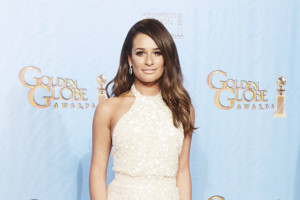 PUBLIC APPEARANCE // 13 janvier 2013 Lea aux 70th Annual Golden Globe Awardss 2013 !