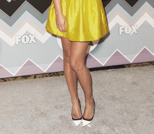 PUBLIC APPEARANCE // 08 janvier 2013 Lea était présente à la fête Fox Winter TCA All-Star, organisée par la chaîne télévisée Fox.