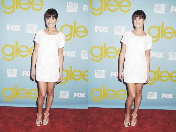 PUBLIC APPEARANCE // 01 mai 2012 Leaà l'événement Glee Academy Event !