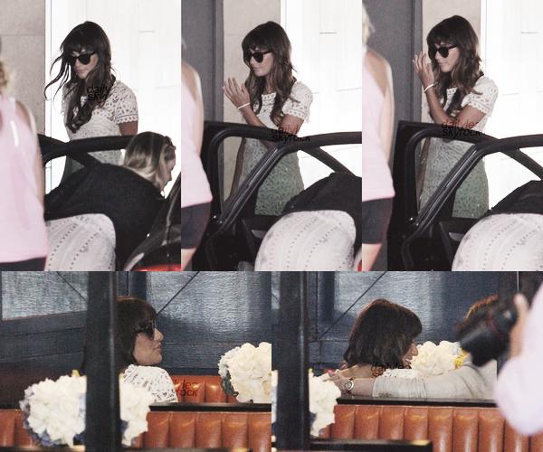 OUT & ABOUT // 03 août 2013 Leaà l'hôtel Thompson pour la Baby Shower d'une amie.