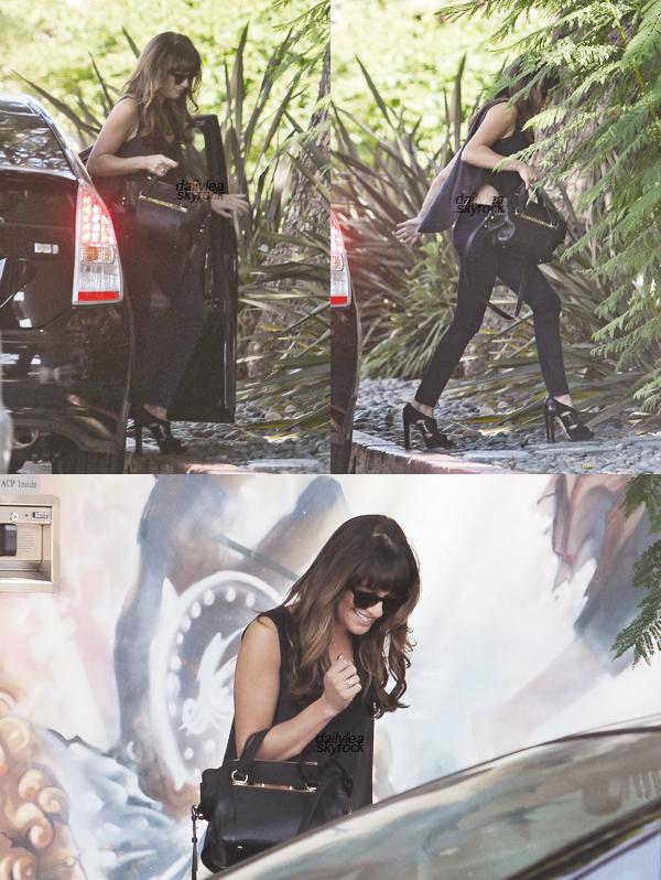 OUT & ABOUT//24 septembre 2013 Leaa été vue à West Hollywood.