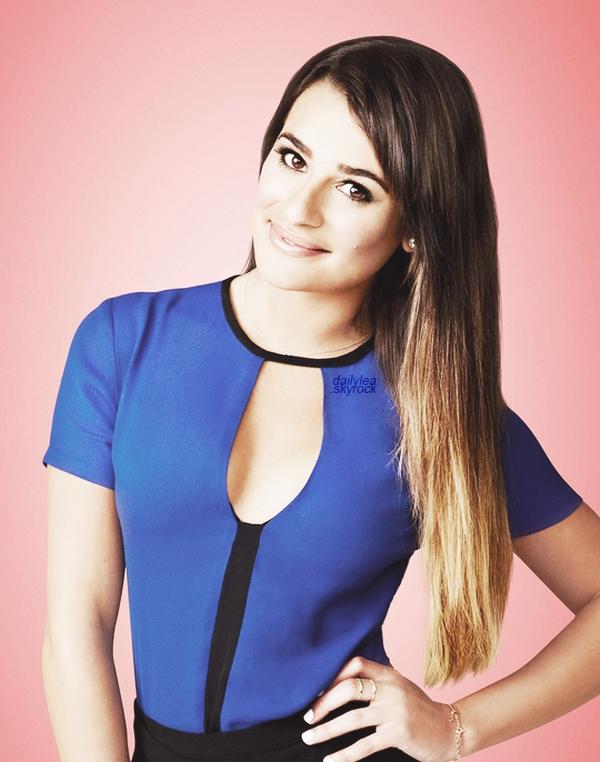 GLEE//promo saison 05 Découvrez une photo promotionnelle de Lea pour la saison 05 de Glee !