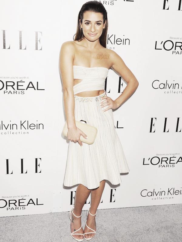 PUBLIC APPEARANCE//21 octobre2013 La magnifique Lea s'est rendue à la vingtième célébration annuelle de Women In Hollywood,organisée par le magazine ELLE.