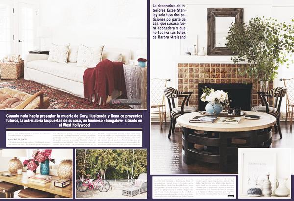 SCANS//Hola ! Mexico Voici les scans du magazine Hola ! Mexico où Lea apparaît.