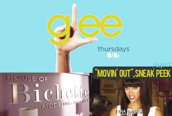 GLEE // promo saison 05 Découvrez le sneak-peek de l'épisode 06 de la saison 05 de Glee !