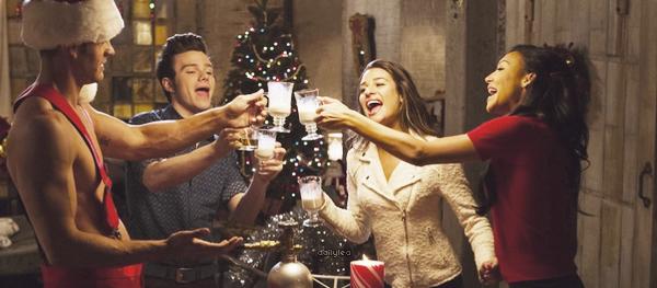 """STILLS // Glee, 5x08, """"Previously Unaired Christmas"""" Découvrez des stills de l'épisode 08 de la saison 05 de Glee intitulé """"Previously Unaired Christmas"""" !"""