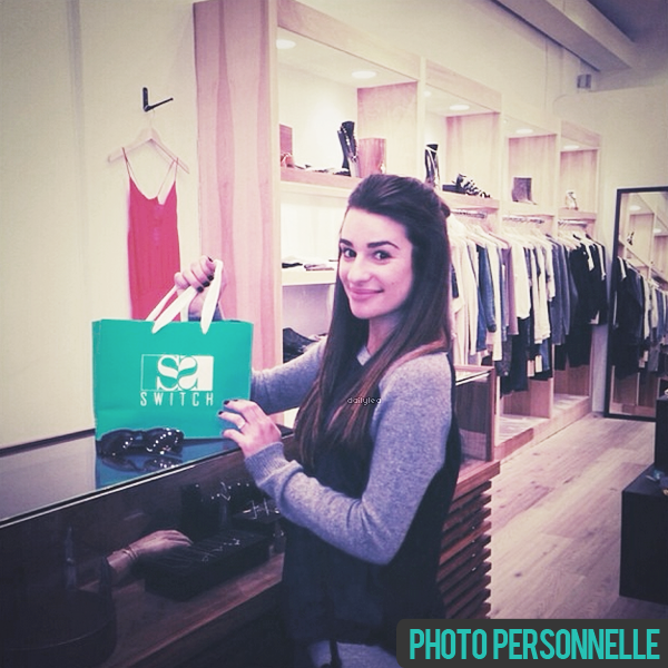 PERSONNAL PICTURE // Instagram Voici une nouvelle photo personnelle de Lea postée sur Instagram.