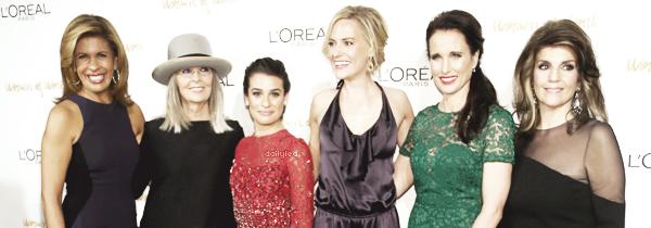 PUBLIC APPEARANCE // 03 décembre 2013 Lea été présente à l'événement Women Of Worth, organisé par L'Oréal Paris, à New York.