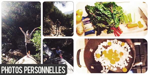 PERSONNAL PICTURES//Instagram Voici de nouvelles photos personnelles de Lea postées sur Instagram.