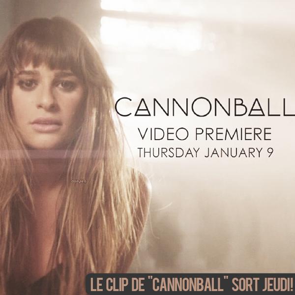 LOUDER // Cannonball Le clip de Cannonball sort jeudi ! .