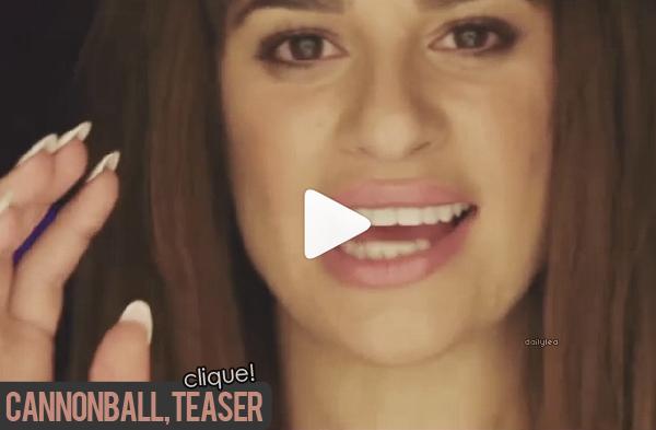 LOUDER // Cannonball Voici une teaser du clip de Cannonball ! .