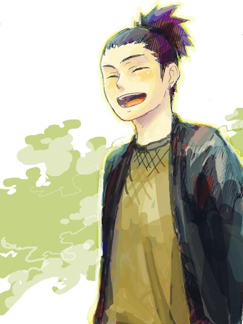 """""""Je voulais vivre ma vie paisiblement avoir une femme ni belle ni moche, avoir deux enfants une fille puis un garçons ... je pensais que etre ninja se serais cool mais je suis le plus grand des trouillards"""" <-- Shikamaru Nara"""