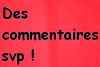 Commentaire :)