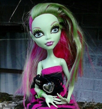 la presentation de ma premier monster high venus