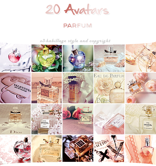 Parfums (avatars)