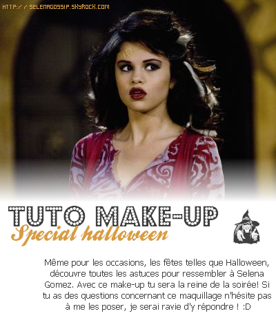 --_SelenaGossip_ Ta source sur Selena Gomez •  Rubrique Make-up - « Look Like Selena » -