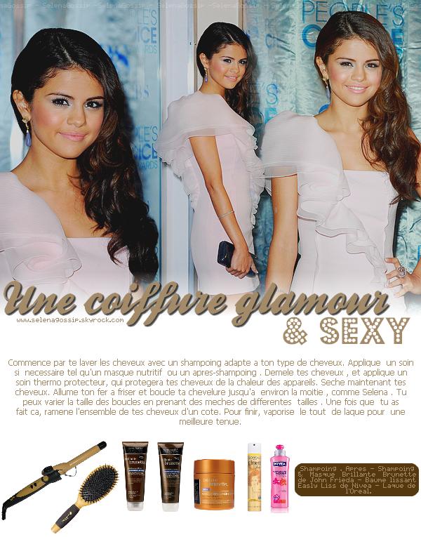 --_SelenaGossip_ Ta source sur Selena Gomez • Rubrique Coiffure - « Look Like Selena » -