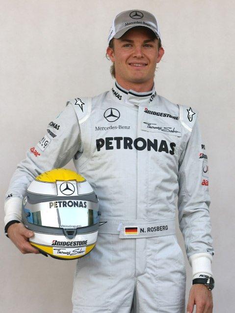 Nico Rosberg n°4