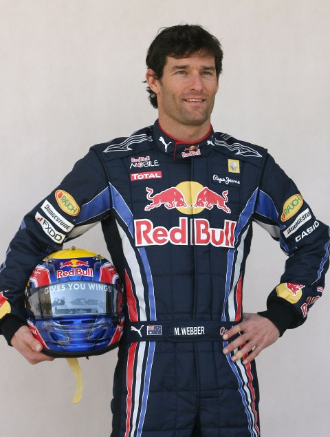 Mark Webber n°6
