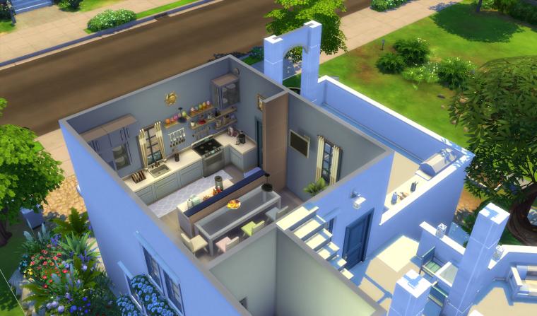 maison gresque suite blog les sims 4 de pimousse. Black Bedroom Furniture Sets. Home Design Ideas