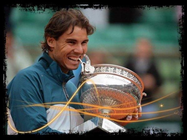 8ème coupe des Mousquetaires pour Rafael Nadal !