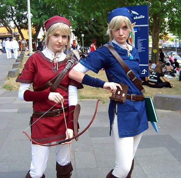 Link Bleu et Link rouge