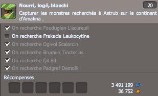 /!\ On recherche Frakacia Leucocytine ! /!\