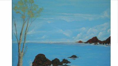 Tableau 8 (la mer Bleu)