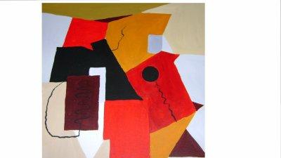 Tableau 18(cubisme moderne)