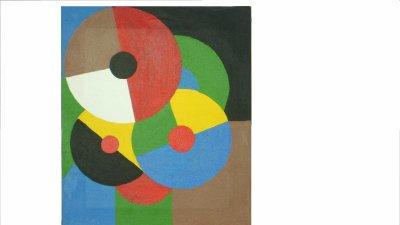 Tableau 20 (reproduction de Sonia Delauney)