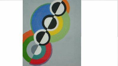 Tableau21(reproduction de Robert Delauney)