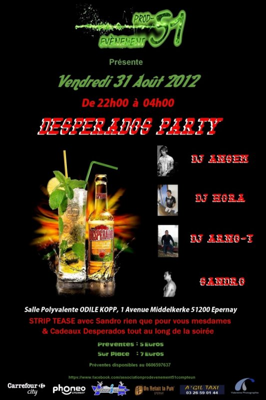 """ Desperados Party's"""