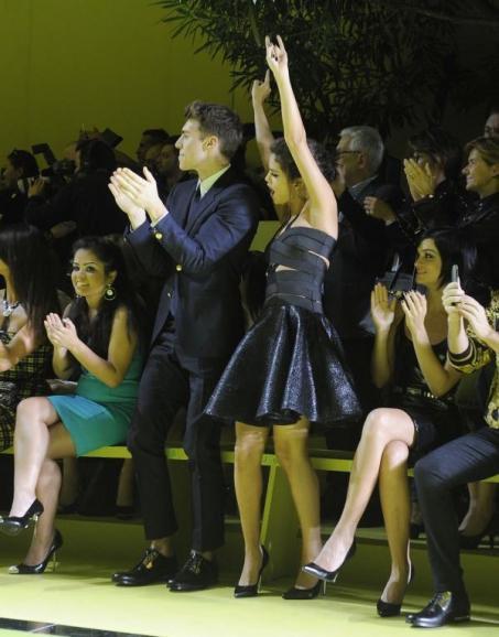 Bientôt la nouvelle égérie de Versace ?