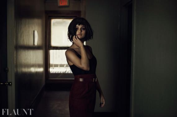 """Flaunt Magazine : """"J'ai adoré faire ces photos !"""""""