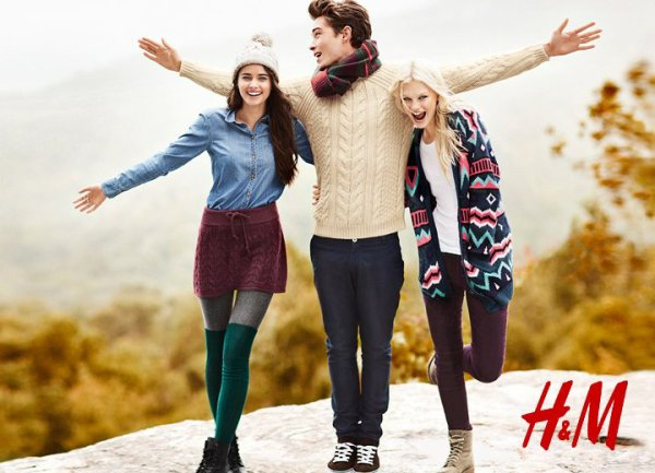 H&M Hiver 2013 **
