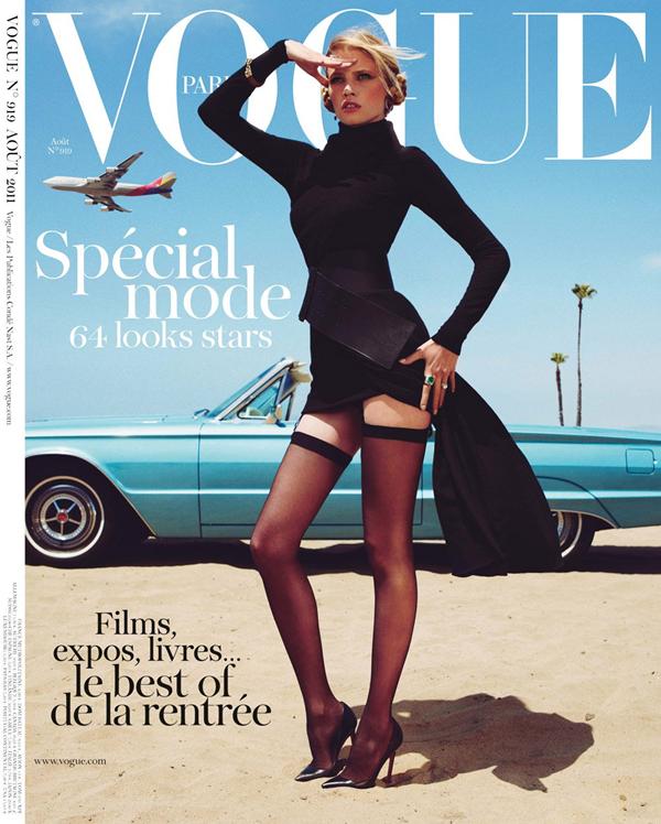 Vogue Paris Aout 2011