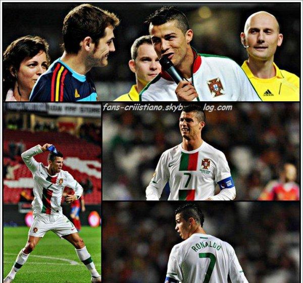 Cristiano Ronaldo vs Espagne