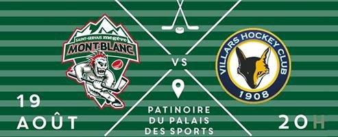 Ce soir, le Hockey Club Mont-Blanc débute sa campagne de préparation face à Villars sur Ollon dès 20 heures au Palais des Sports de Megève