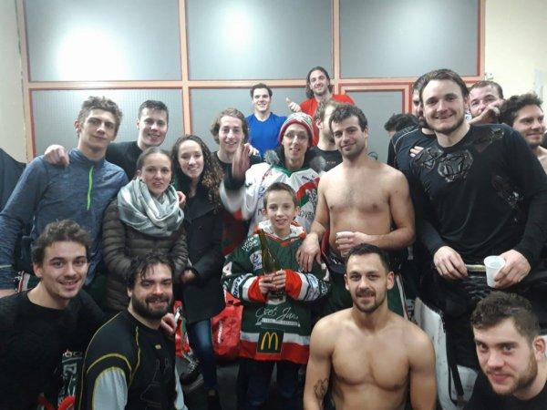 Victoire de Mt Blanc à Briançon 2-3 ♡  5e victoire de suite !!!!