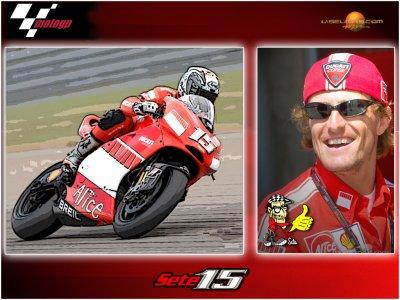 Sete Gibernau Team Ducati Malboro n°15