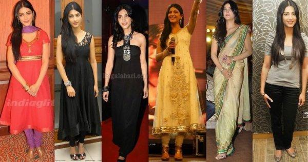 Several model of dress
