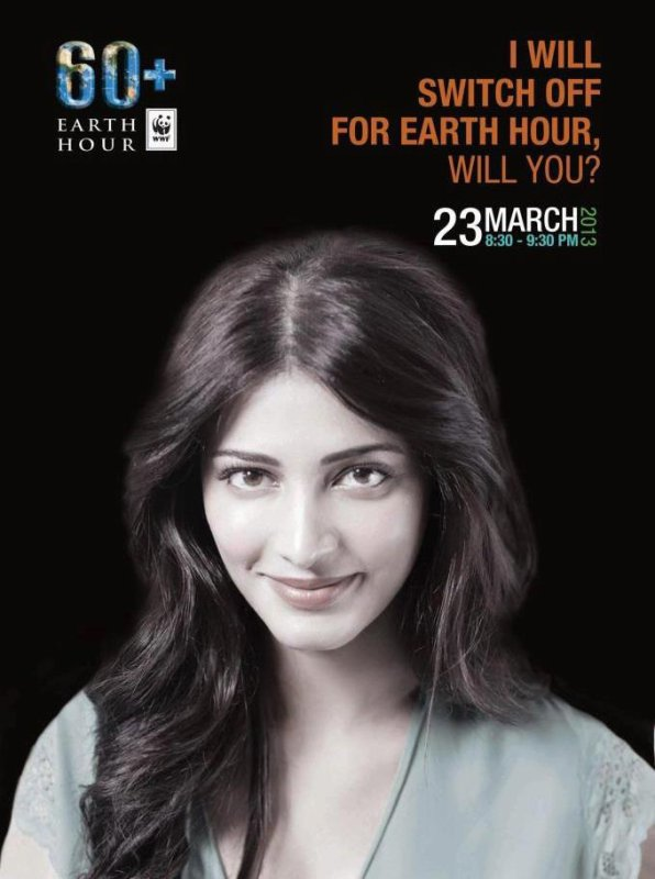 Shruthi will Switch Off for Earth hour will you !