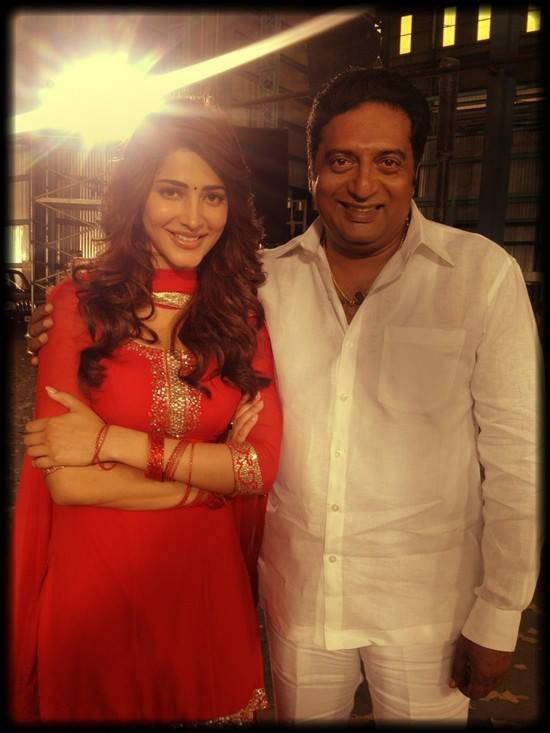 shruthi with pragash raj