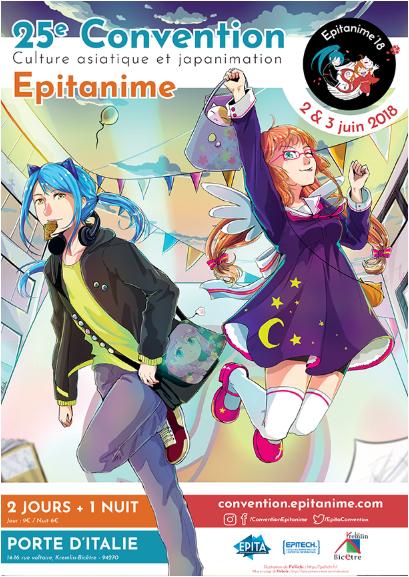 convention manga le 2 et 3 juin 2018