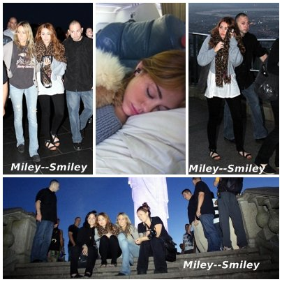 11.05.11:Miley Visite Cristo Redentor a Rio + Photos Perssonelle