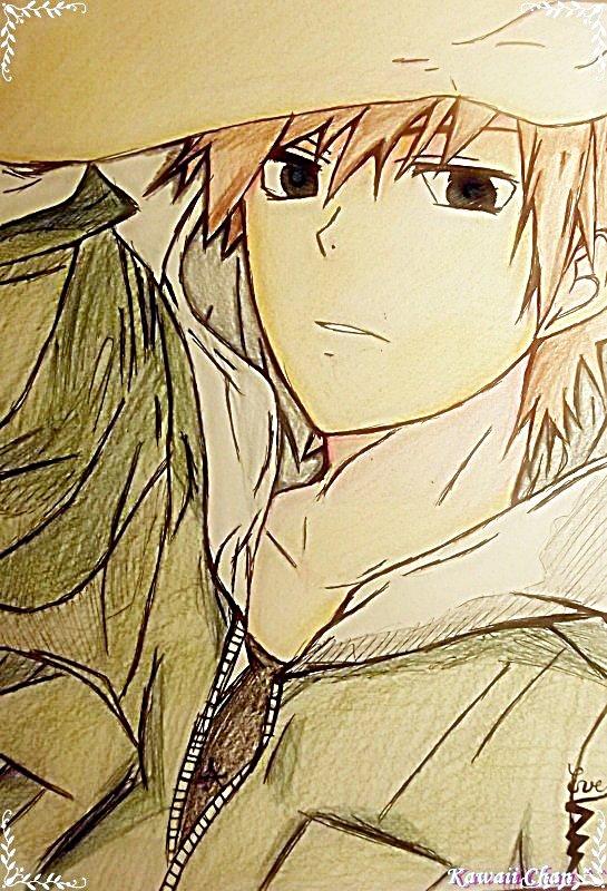 Dessin 28 : Mon premier dessin Manga Garçon !