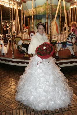 La Princesse En Robe De Mariee La Robe Orientale