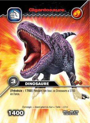 La carte dinosaure king bienvenu dans le monde de tom - Carte dinosaure king ...